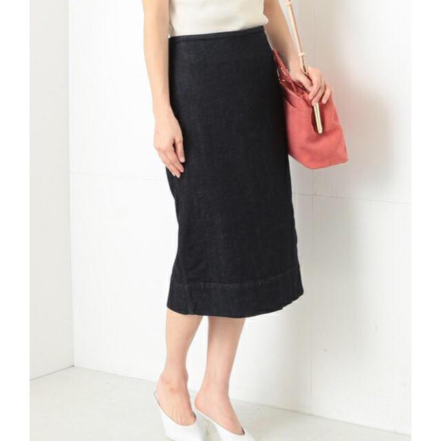 Demi-Luxe BEAMS(デミルクスビームス)のストレッチ デニム タイトスカート  レディースのスカート(ひざ丈スカート)の商品写真