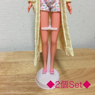 バービー(Barbie)の新品☆バービー ジェニー ドールスタンド   ◆2個セット◆(ぬいぐるみ/人形)