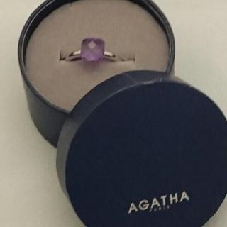 アガタ(AGATHA)のAGATHA アメジスト リング 【美品】(リング(指輪))