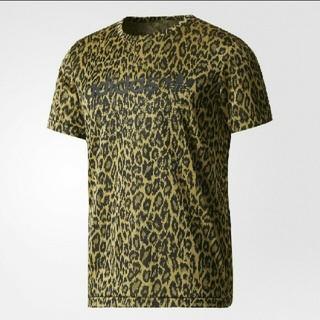 アディダス(adidas)の□adidas originals レオパード総柄Tシャツ□(Tシャツ/カットソー(半袖/袖なし))
