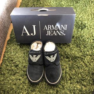 アルマーニ ジュニア(ARMANI JUNIOR)のアルマーニ 靴 ハイカット(スニーカー)