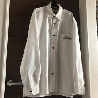 バランスウェアデザイン(balanceweardesign)のBalanceの白シャツ2XL送料無料ストリートBBOYスケーター大きいサイズ(シャツ)