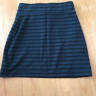 アベイル(Avail)のアベイル♡ボーダータイトスカート 美品(ミニスカート)