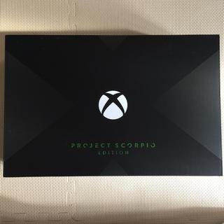エックスボックス(Xbox)のXbox one x PROJECT SCORPIO EDITION(家庭用ゲーム機本体)