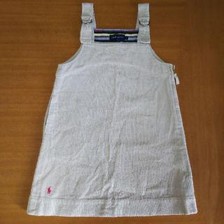 ラルフローレン(Ralph Lauren)のRALPH LAUREN★コーデュロイジャンパースカート110センチ(ワンピース)