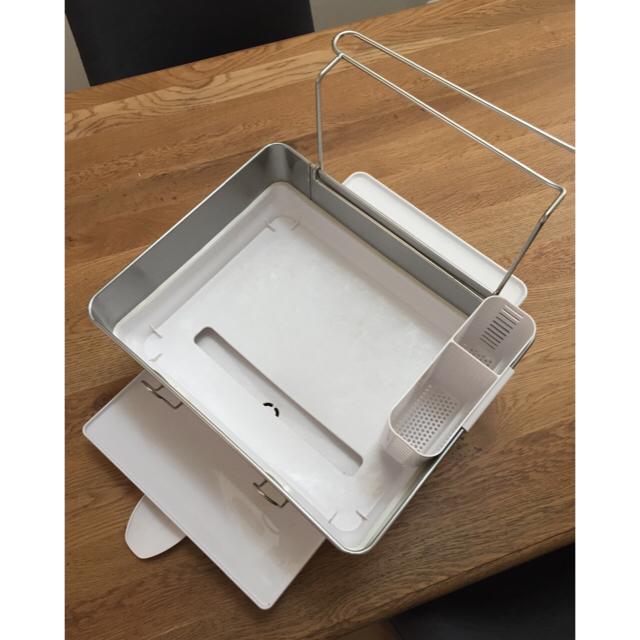 MUJI (無印良品)(ムジルシリョウヒン)の水切りラック ディッシュラック インテリア/住まい/日用品のキッチン/食器(収納/キッチン雑貨)の商品写真