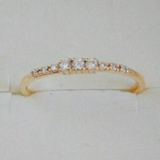 ココシュニック(COCOSHNIK)の※お取り置き専用ページ※        新品✧*COCOSHNIKダイヤリング(リング(指輪))