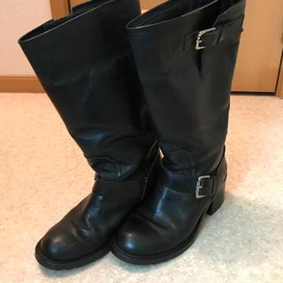 ジーヴィジーヴィ(G.V.G.V.)のGVGV●ロング ブーツ ブラック ● toga ギャルソン HYKE(ブーツ)