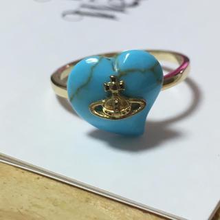 ヴィヴィアンウエストウッド(Vivienne Westwood)のヴィヴィアンウェストウッド リング 指輪 オーブ ターコイズ ライトブルー 水色(リング(指輪))