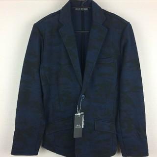 テットオム(TETE HOMME)の新品 テットオム テーラードジャケット ブラック×ネイビー サイズ5(テーラードジャケット)