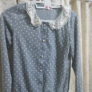 シマムラ(しまむら)の襟つきトップス150㎝(Tシャツ/カットソー)