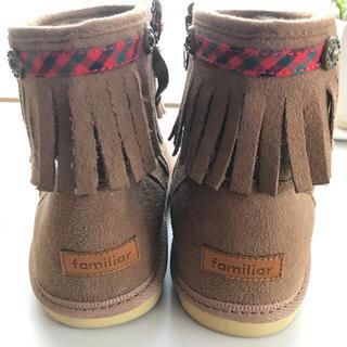 ファミリア(familiar)のMiyuckey様専用♡familiar ファミリア ブーツ 19cm(ブーツ)