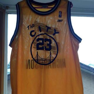 リーボック(Reebok)のNBAゲームシャツ(タンクトップ)