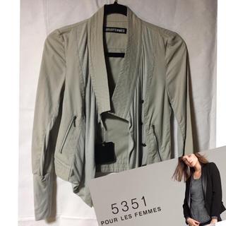 新品★値下げ★5351POUR LES FEMMESプーラファム ジャケット