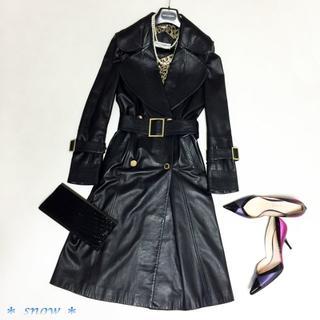 ドルチェアンドガッバーナ(DOLCE&GABBANA)の*Dolce&Gabbana*ドルチェ&ガッバーナ*レザーコート*(毛皮/ファーコート)