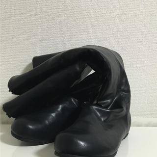 ムジルシリョウヒン(MUJI (無印良品))の無印 折り返せる足なりブーツ(ブーツ)