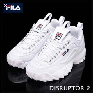 フィラ(FILA)の新品 未使用 FILA DISRUPTOR2(スニーカー)