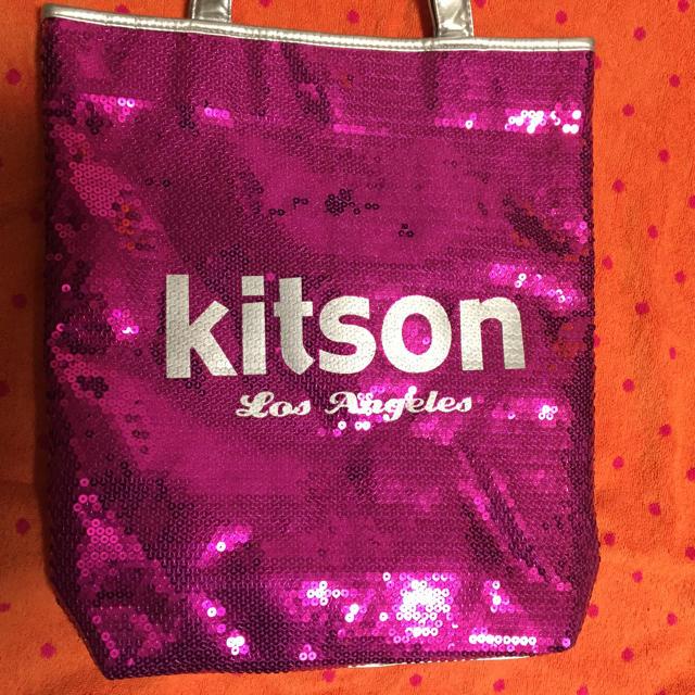 12812513b799 KITSON(キットソン)のkitson キットソン スパンコール トートバッグ レディースのバッグ(トートバッグ