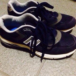 ニューバランス(New Balance)のNB774 ネイビー(スニーカー)