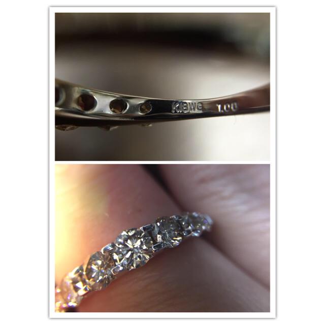 SAKURAKO様専用  ブラウンダイヤ1.00ctリング ネイキッド デザイン レディースのアクセサリー(リング(指輪))の商品写真