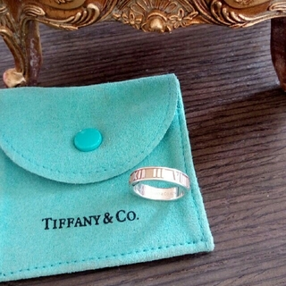 ティファニー(Tiffany & Co.)のティファニー アトラス ナロー リング 指輪 6.5 号(リング(指輪))