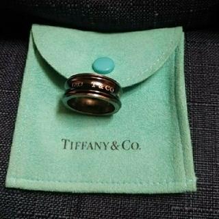 ティファニー(Tiffany & Co.)の値下げ ティファニー ブラック リング 13号(リング(指輪))