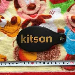 キットソン(KITSON)のkitson キットソン 男女兼用 ブラック&ゴールドカラー ミラー•手鏡(ミラー)