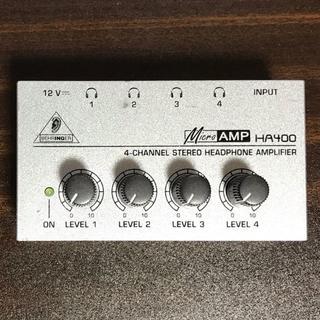 BEHRINGER ベリンガー HA400 Microamp(送料込み)(パワーアンプ)