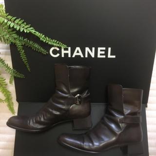 シャネル(CHANEL)のシャネル ショート ブーツ (ブーツ)