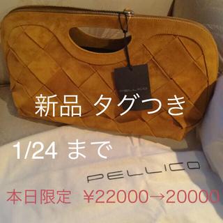ペリーコ(PELLICO)の未使用 PELLICO 牛革  Bag(クラッチバッグ)