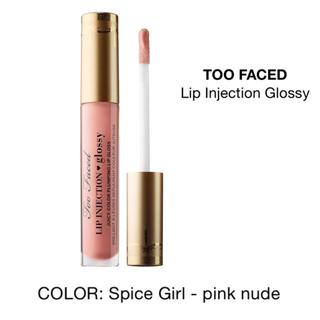 トゥフェイス(Too Faced)の未開封 Too Faced リップグロス Spice Girl ミニサイズ(リップグロス)