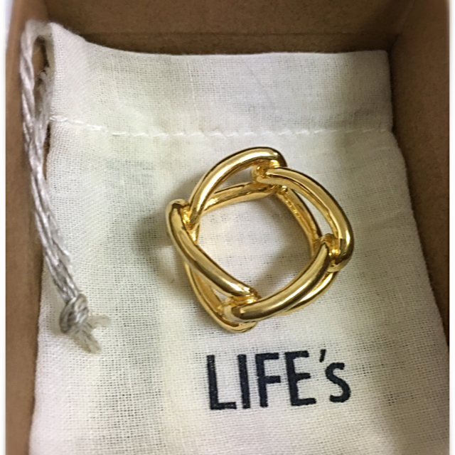 TODAYFUL(トゥデイフル)のニュアンスチェーンリング♡TODAYFUL レディースのアクセサリー(リング(指輪))の商品写真