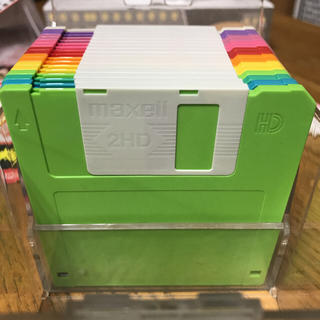 マクセル(maxell)のフロッピーディスク 17枚(PC周辺機器)