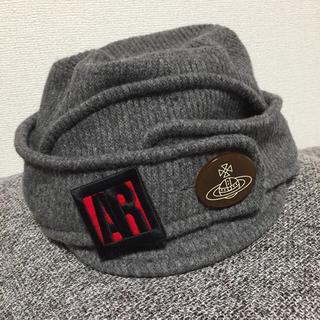 ヴィヴィアンウエストウッド(Vivienne Westwood)のVW ニット帽(ニット帽/ビーニー)