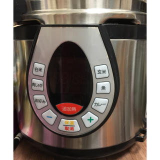ワンダーシェフ(ワンダーシェフ)の電気圧力鍋 ワンダーシェフ 簡単料理 圧力鍋 煮込み ティファール(調理機器)