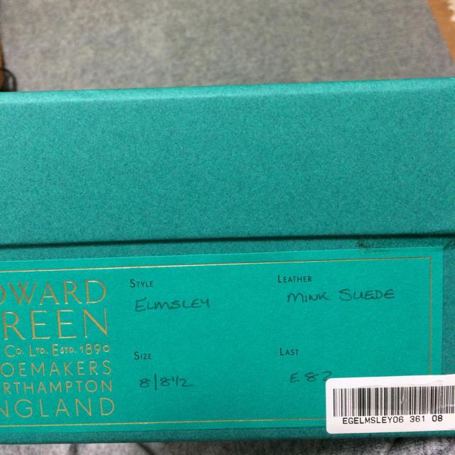 EDWARD GREEN(エドワードグリーン)の新品未使用エドワードグリーン 8 メンズの靴/シューズ(ドレス/ビジネス)の商品写真