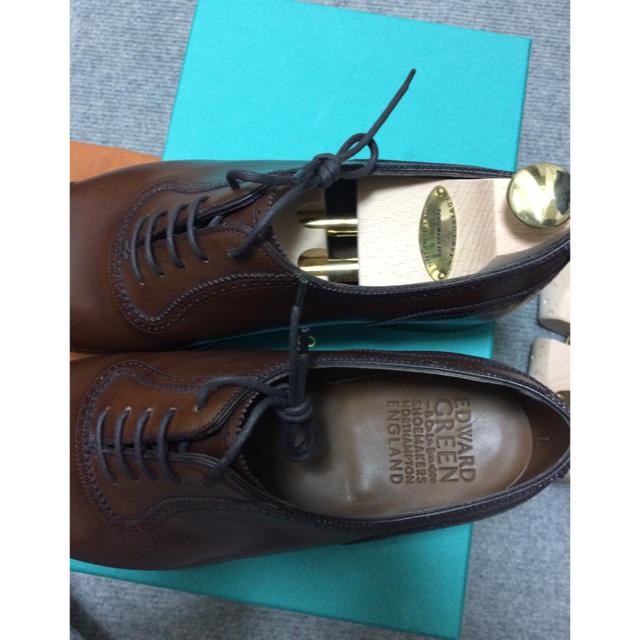 EDWARD GREEN(エドワードグリーン)の新品未使用 エドワードグリーン 8D メンズの靴/シューズ(ドレス/ビジネス)の商品写真