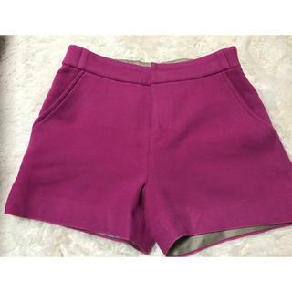 ダブルスタンダードクロージング(DOUBLE STANDARD CLOTHING)のダブスタ ホットピンクショートパンツ(ショートパンツ)
