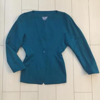 ティエリーミュグレー(Thierry Mugler)のティエリーミュグレー デザインジャケット(ノーカラージャケット)