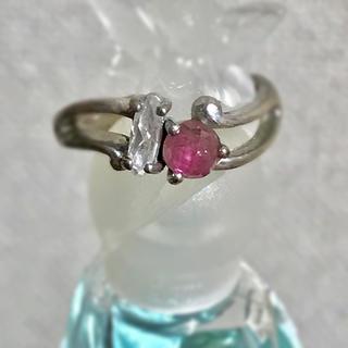 ピンクトルマリン♡ピンキーリング(リング(指輪))