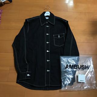 アンブッシュ(AMBUSH)のAMBUSH オーバーサイズデニムジャケット 確実正規品(Gジャン/デニムジャケット)