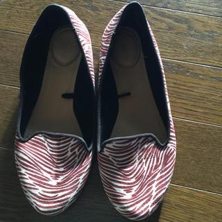 4e1109e57ee164 未使用訳有り品 Bershka レザーシューズ 白25. ¥1,500. ベルシュカ(Bershka)のフラットシューズ (ローファー/革靴)