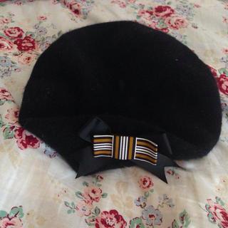 アースミュージックアンドエコロジー(earth music & ecology)の新品earthベレー帽(ハンチング/ベレー帽)