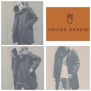 ユナイテッドアローズ(UNITED ARROWS)の【シャカ感、定番、3シーズン】UNITED ARROWS ロングモッズコートXS(モッズコート)