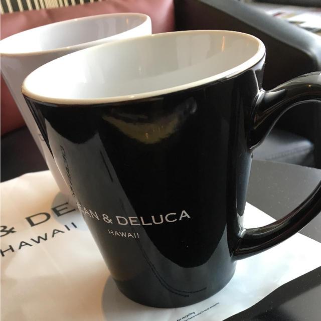 DEAN & DELUCA(ディーンアンドデルーカ)の【新品】DEAN&DELUCA ハワイ ペアマグカップ インテリア/住まい/日用品のキッチン/食器(グラス/カップ)の商品写真