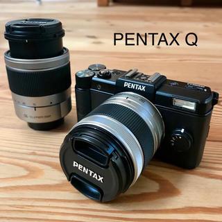 ペンタックス(PENTAX)のshara0514様専用☆PENTAX Q ミラーレス一眼カメラ 説明書付(ミラーレス一眼)