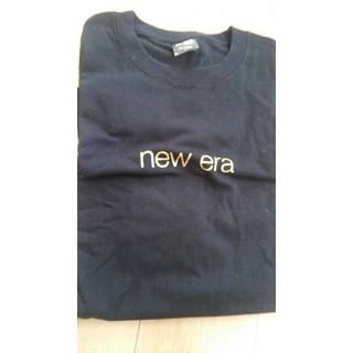 ニューエラー(NEW ERA)のNewEra  Tシャツ XXL ブラック×ゴールド(Tシャツ/カットソー(半袖/袖なし))
