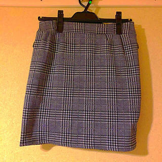 アベイル(Avail)のグレンチェックタイトスカート(ミニスカート)
