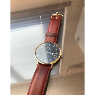ダニエルウェリントン(Daniel Wellington)の美品 ダニエルウェリントン 腕時計(腕時計(アナログ))