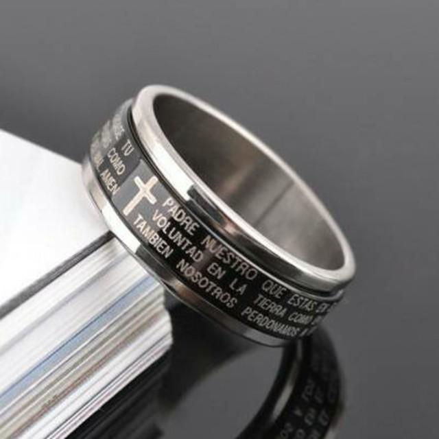 送料無料❗❗🔘300円アクセ❗ダブル回転リング⭐ レディースのアクセサリー(リング(指輪))の商品写真